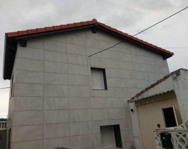 Aislamiento Energético de Fachadas ventiladas de viviendas unifamiliares de Santander
